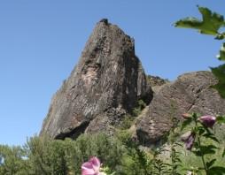 Vulkanische rots van Prades