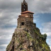 Kapel Saint-Michel d'Aguilhe in le Puy-en-Velay