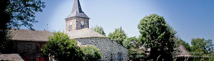 Kerkje in Moudeyres, Haute-Loire