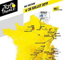 Op 14 juli 2019 komt de Tour de France door de Auvergne!